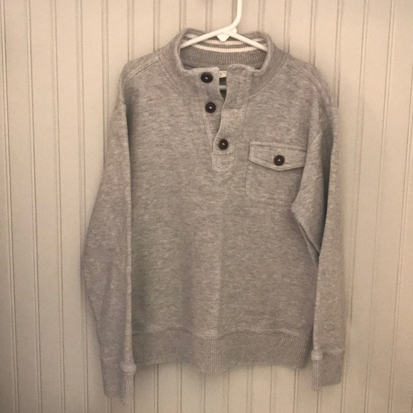 Crazy 8 Other - Boys grey, long sleeve sweater